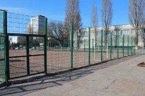 Ограждение спортплощадки для гимназии_5