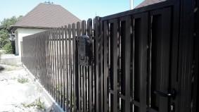 Не просматриваемый но проветриваемый забор штакет
