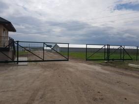 Откатные ворота 2 шт в проеме