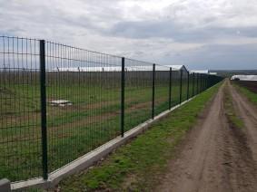 Секционный забор Кольчуга RAL 6005