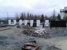 Современный забор жалюзи для котеджа, Киевская область, Конча-Заспа_1
