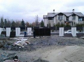 Современный забор жалюзи для котеджа, Киевская область, Конча-Заспа_5