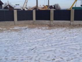 забор Жалюзи RAL7024