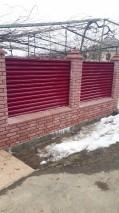 Забор-жалюзи для ограждения участка