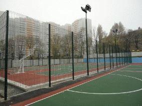 Площадка спортивная с освещением