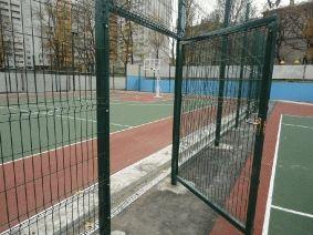 Калитка из металла для баскетбольного поля