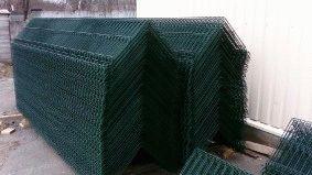 Комплектация объекта забором из сварной сетки, Туркменистан_2