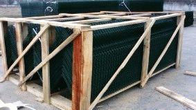 Комплектация объекта забором из сварной сетки, Туркменистан_5