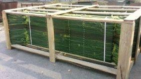 Комплектация объекта забором из сварной сетки, Туркменистан_9