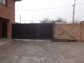 Автоматические ворота Жалюзи
