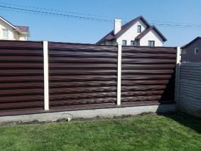 Забор из горизотального штакета_3