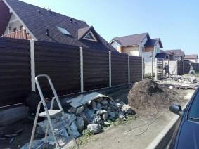 Забор из горизотального штакета_4