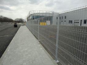 Забор RAL 9006